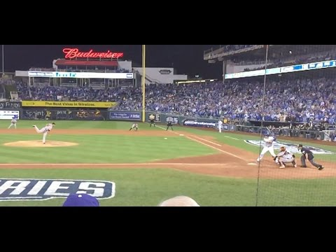 iPhone 6 Plus Slow Mo at the 2014 World Series