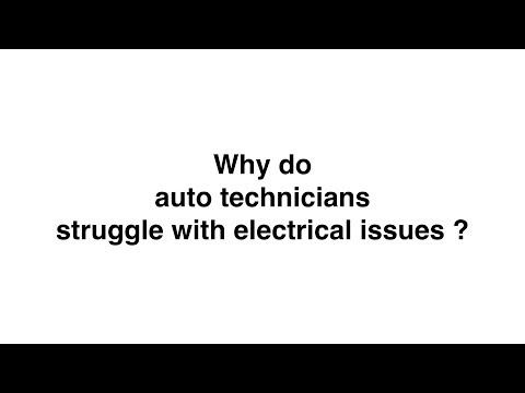 Why do we struggle with Electrical Issues
