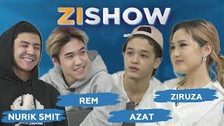 ZISHOW: Қыздар, измена, музыкалық премиялар мен өнер жайында. Nurik Smit, Rem, Azat & Ziruza