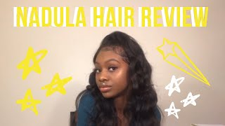 NADULA BODY WAVE PERUVIAN HAIR UNBOXING/REVIEW 2019