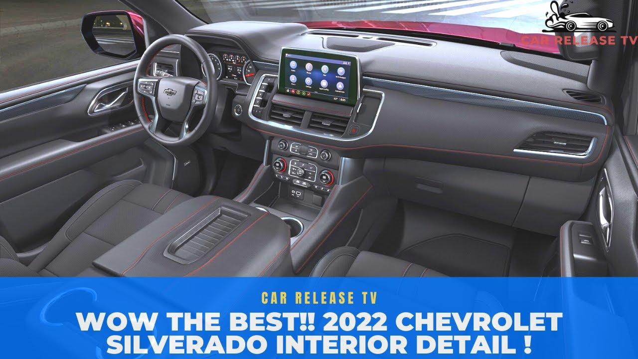 THE BEST!! 2022 Chevrolet Silverado Interior - 2022 Chevy Silverado Interior Exterior Change