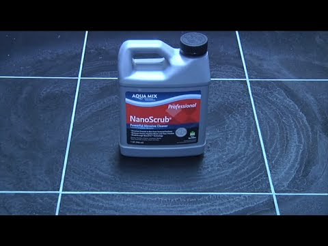 See How to Remove Sealer Residue with NanoScrub®