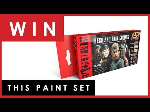 Competition - WIN a set of 6 paints to celebrate 1 year of Dave's Model Workshop