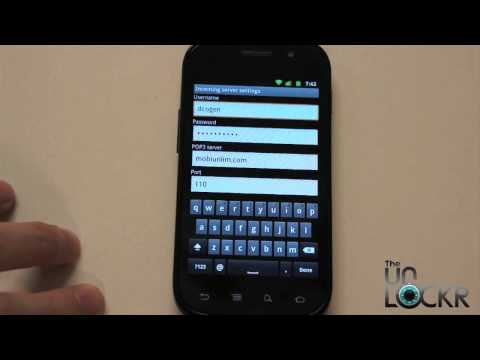 Android 101: How To Setup Email