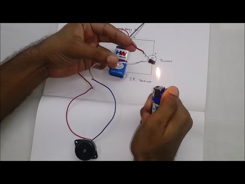 How To Make Fire Alarm ( In Hindi )