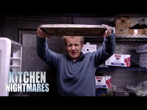 Gordon Finds Mushroom Risotto STUCK TO THE TRAY! | Kitchen Nightmares
