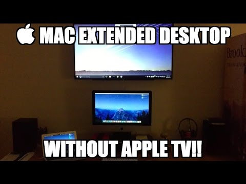  Airplay Mirror Display/Extend Desktop Without Apple TV!!!