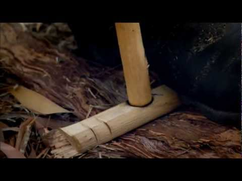 Ray Mears Bushcraft - Bow Drill Fire Lighting - Rozpalanie ognia - łuk ogniowy