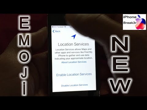 New iCloud Unlock Emoji Fix Activation skip Full Active iPhone Break3r