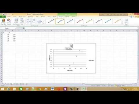 how to draw a line graph using excel