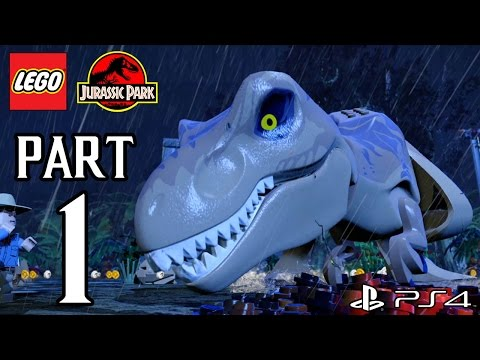 LEGO Jurassic World Walkthrough PART 1 (PS4) Gameplay No Commentary [1080p] TRUE-HD QUALITY