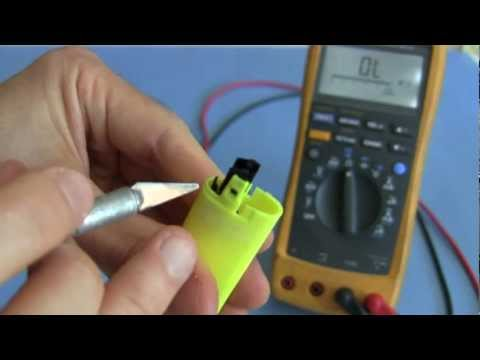 How to take Piezoelectric Igniter from Lighter for Spud Gun