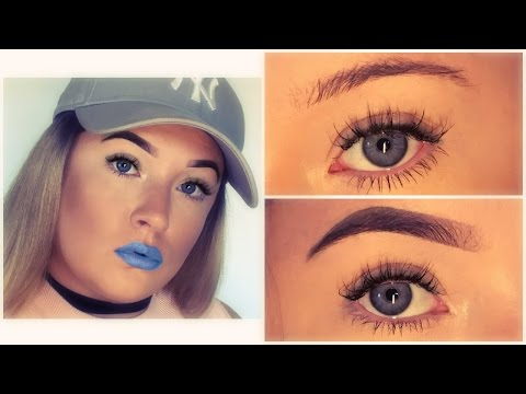 HOW TO FILL IN YOUR EYEBROWS   ANASTASIA BEVERLY HILLS DIPBROW POMADE REVIEW