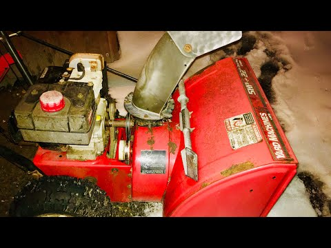 Replacing the auger belt on an MTD Snow Blower
