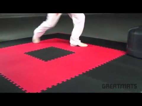 Home Martial Arts Gym Floor Mats - Home Sport and Play 7/8 inch Workout Mats