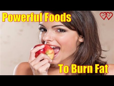 Some Powerful Foods That Helps A Person To Burn Fat From The Body