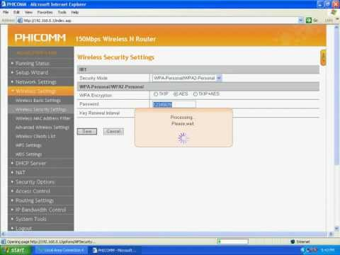How do I protect my wireless network by using WPA-PSK WPA2-PSK Wireless Router