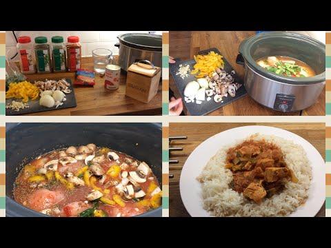 Slowcooker Spanish Chicken stew