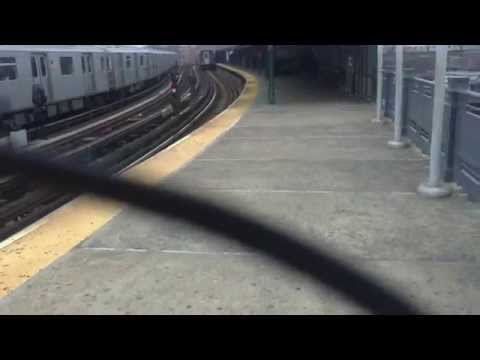 Subway Station  in the Bronx , New York City