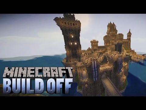 Minecraft BUILD OFF - Medieval Castle - PILOT EPISODE