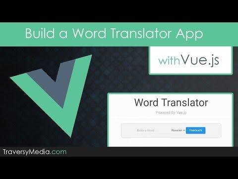 Build a Vue js Translator App Using The Yandex API