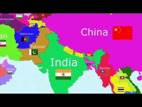 The Countries of the World Song - Asia