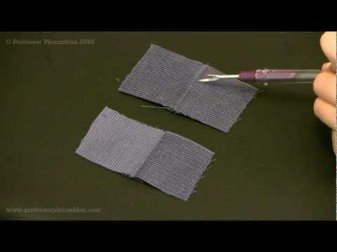 How to Sew With Nap Fabric