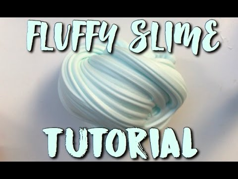 DIY Best Fluffy Slime Recipe (with and without borax)