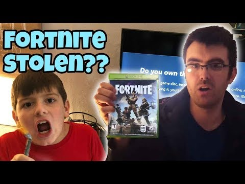 *NEW* We Got Our Fortnite Game Stolen From Us, By Uncle Jay, Kids Reactions.