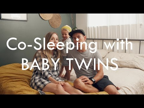Co-Sleeping with BABY TWINS and Q&A