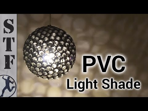 Make an Awesome PVC Light/Lamp Shade