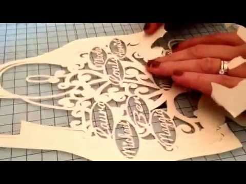 Papercutting by Retrospective Heart ♥️ Family tree part 5 the unavailing.