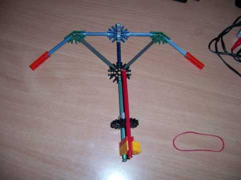 K'nex paper firing crossbow (simple and effective)