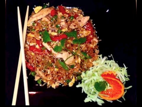 Best Fried Rice-Spicy Chicken Fried Rice Recipe From Lovely's Kitchen