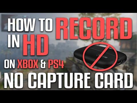 How To Record Xbox One & PS4 Screen In HD Without A Capture Card 2016 (FOR FREE NO COST $0)