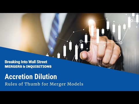Accretion Dilution - Rules of Thumb for Merger Models