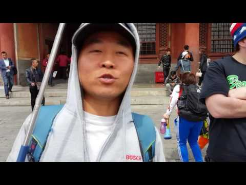 Visiting Forbidden City and the Great Wall