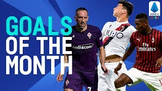 Orsolini, Ribéry and Leão stunning goals! | Goals Of The Month | September 2019 | Serie A