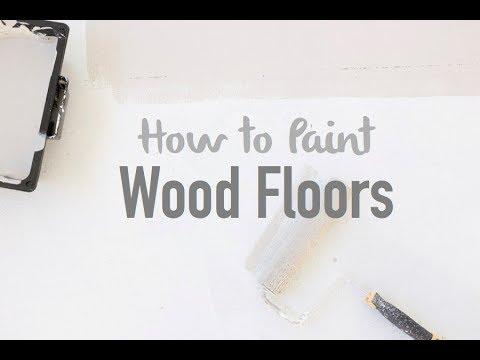 Tutorial: How to Paint Wood Floors