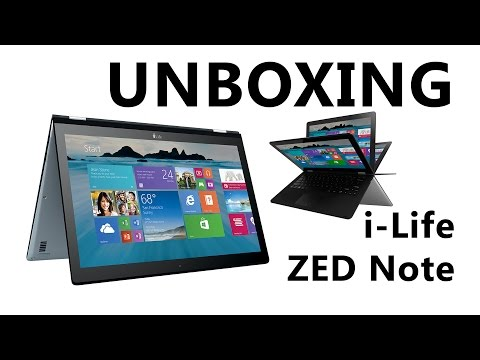 i-Life ZED Note Laptop Unboxing