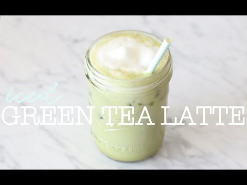 How To Make An Iced Green Tea Latte