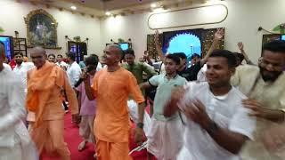 Raj Bhoga + Sankirtan Srila Prabhupada Vyasa Puja 2019 Hare Krishna Village Tonk