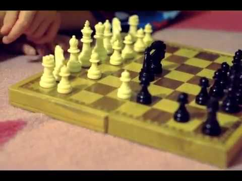 ASMR Kids Playing Chess and Chewing Gum