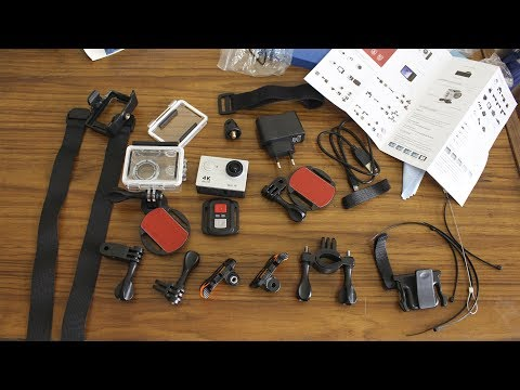 EKEN H9R 4K Action Camera Unboxing (With Sample Video)