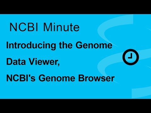 NCBI Minute: Introducing the Genome Data Viewer, NCBI's Genome Browser