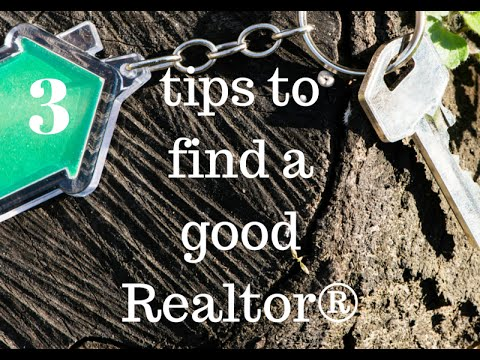 How to find a good realtor to buy a home or sell your home