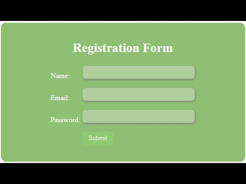 PHP PDO Tutorials: PHP Registration and Login form Using database HINDI-URDU 2017