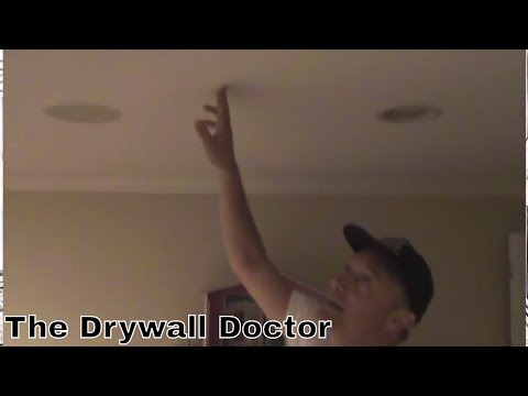 How to Fix Wall/Ceiling Cracks and Why it Happens