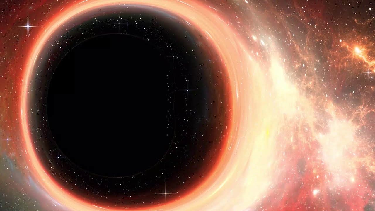 TU Delft - Black Hole Simulation (360-degree video)