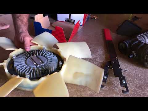 HOW TO: replace a fan clutch on a ford ranger